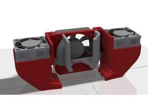 Robo3D R2 40mm Extruder Fan Cooler