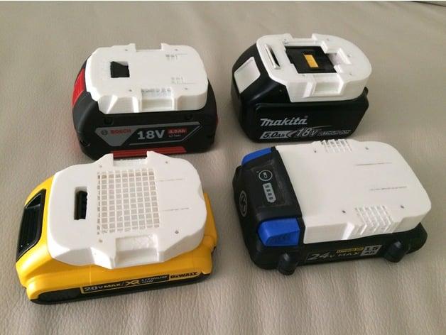 Makita Battery Model By Simhopp Thingiverse