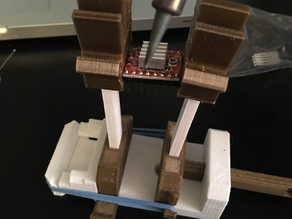 mini rubber band vise helping hands