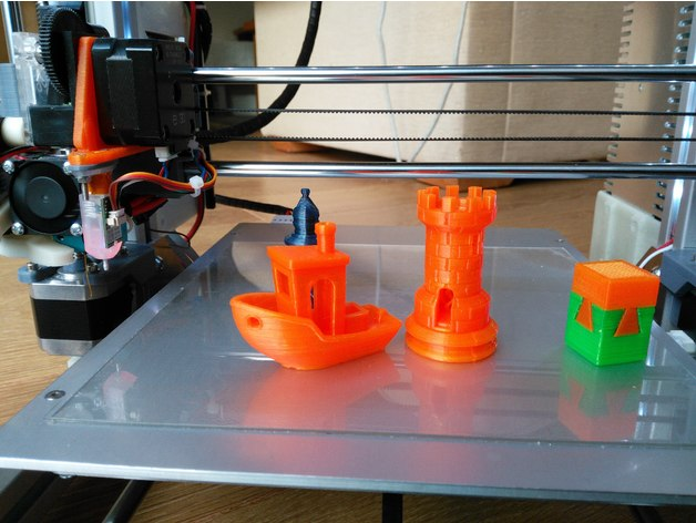 Prusa i3 MK2-X Remix with i3 MK3 features by delboy711