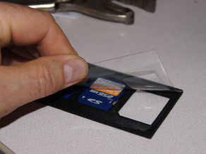 SD Business Card Holder