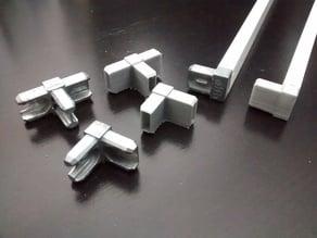 Corner bracket for Elfa drawer frame