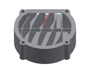 Fan-Air-Guider for 40mm Fans
