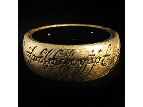 LoTR The One Ring Echo Dot Sleeve Case Thing