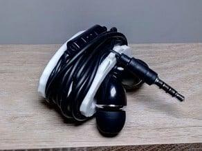Earbud Holder - Enrouleur pour écouteurs