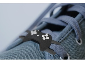 Video Game GamePad - Lace Lock (PopLace)