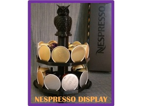 modular NESPRESSO CUPS DISPLAY