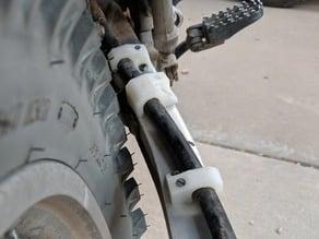 XR650L Rear Brake Line Retainer
