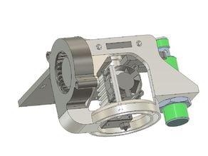 Halter für XCR3D Hotend FLSUN Cube