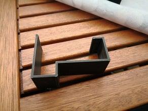 IKEA Innamo table tablecloth clips.