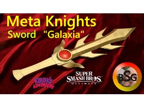 "Meta Knights Sword ""Galaxia"" from Kirby's Adventure/Smash Bros"