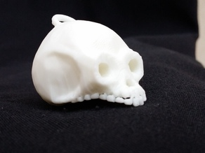 low poly old skull [edited]