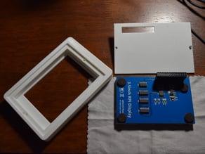 """Basic 3.5"""" Raspberry Pi LCD Bezel & Back Plate"""