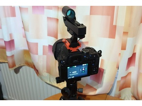 DSLR Holder for Red Dot Finder