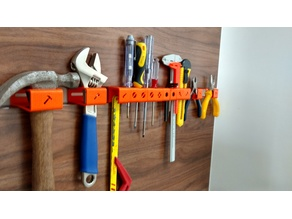 3D printed tool hanger