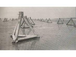 Betontetraeder [WW2] 1/35