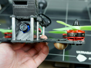 Drone Hemisphere Landing Gear for Lisam LS-210
