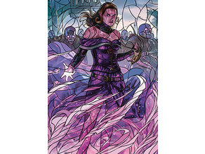 Liliana, Dreadhorde General - stained glass - litho