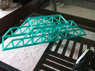 Modified Howe Bridge - Engineering Project (STEM)