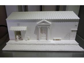 Roman Street Diorama