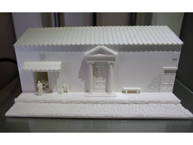 Roman Street Diorama By Snorri Thingiverse