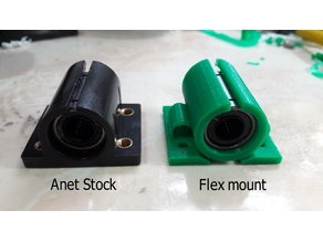 Float LM8UU bearing mount for Anet a8