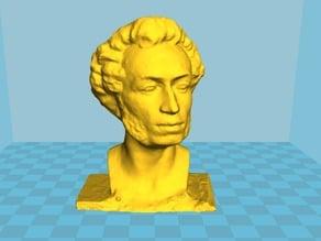bust of Pushkin