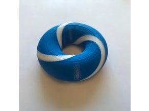 (2,3) Torus Knot on a Torus