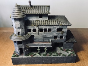 Trollskull Manor - Playable size (28mm)