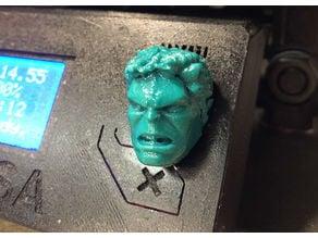 Prusa i3 - Selector Knob - Super Hero - Hulk