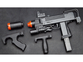 Maruzen M-11 Ingram Airsoft gun Tactical Custom