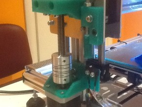 Z-axis for trapezoidal 10x2 spindle + flaged bronze nut V3