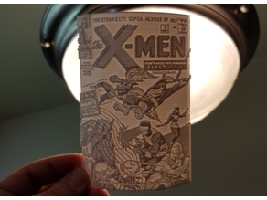 X-Men # 1 Lithopane