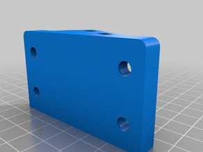 Ender 3 Filament Spool Holder Wide Adapter with Arm