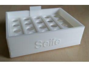 Seifenschale soap dish