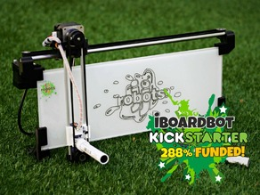 iBoardbot: an OPEN SOURCE internet remotely controlled drawing robot