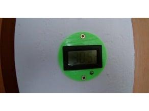 temperature panel