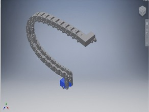 Cable Drag Chain for MakerFront i3PRO