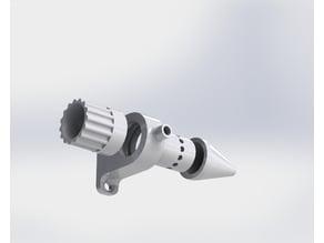 Eleksmaker laser compressor mount nozzle