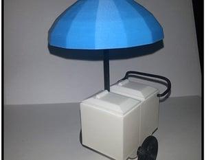 Push Cart Stand