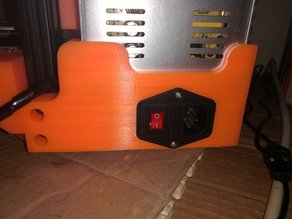 power supply cover + frame support for anet am8