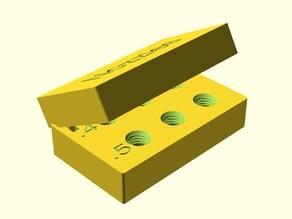 Customizable box to keep nozzles
