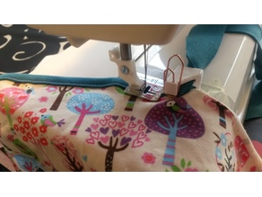 Customizable (30:10mm) tape binder for sewing machine