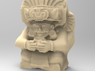 Ceramic urn, Zapotec (AD 200-800), Oaxaca State, Mexico