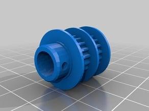 Vertex K8400 Pulleymod GT2 T2,5/19T 8mm shaft hole