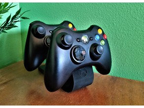 Dual Xbox 360 Controller Stand