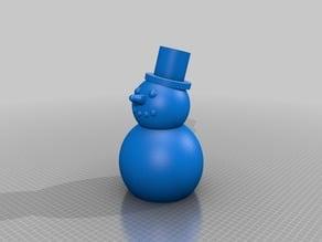 Snowman Piggybank