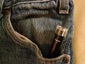 Pen Light - Pocket Cap