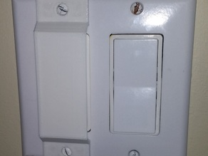 Light Switch Guard for flat-styled switches