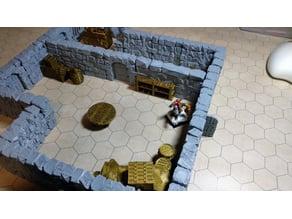 Modular dungeon system #1 (Rocks)